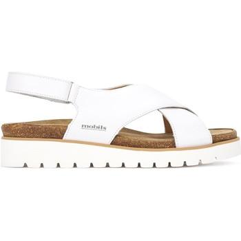 kengät Naiset Sandaalit ja avokkaat Mephisto P5131063 Valkoinen