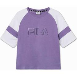 vaatteet Lapset Lyhythihainen t-paita Fila 683330 Violetti