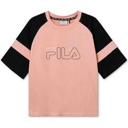 vaatteet Lapset Lyhythihainen t-paita Fila 683330 Vaaleanpunainen