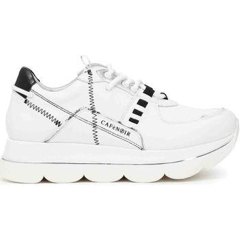 kengät Naiset Matalavartiset tennarit Café Noir DB1330 Valkoinen