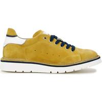 kengät Miehet Tennarit Café Noir TS6010 Keltainen