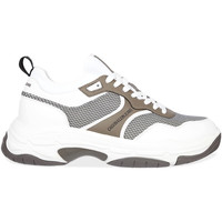 kengät Miehet Matalavartiset tennarit Calvin Klein Jeans YM0YM00048 Valkoinen