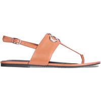 kengät Naiset Sandaalit ja avokkaat Calvin Klein Jeans YW0YW00145 Ruskea