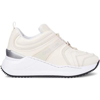 kengät Naiset Tennarit Calvin Klein Jeans YW0YW00167 Valkoinen