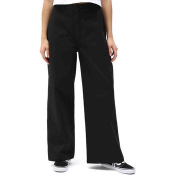 vaatteet Naiset Chino-housut / Porkkanahousut Dickies DK0A4X7WBLK1 Musta