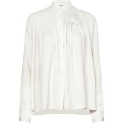 vaatteet Naiset Paitapusero / Kauluspaita Calvin Klein Jeans K20K202626 Valkoinen