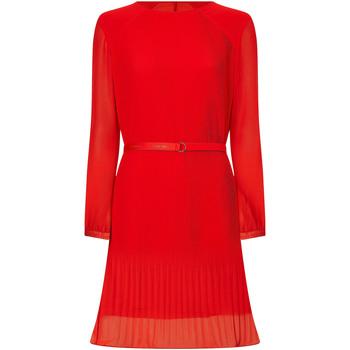vaatteet Naiset Lyhyt mekko Calvin Klein Jeans K20K202662 Punainen