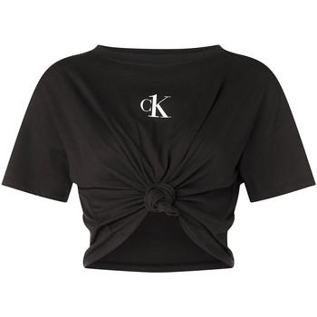 vaatteet Naiset Topit / Puserot Calvin Klein Jeans KW0KW01366 Musta