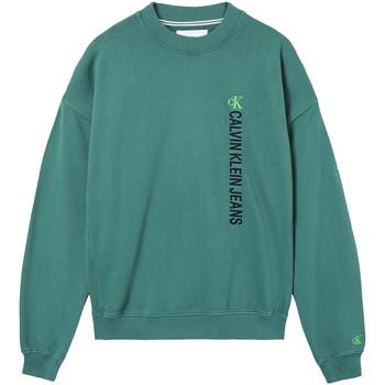 vaatteet Miehet Svetari Calvin Klein Jeans J30J317062 Vihreä