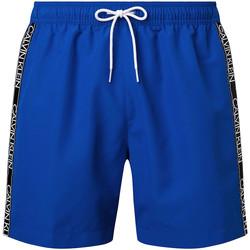 vaatteet Miehet Uima-asut / Uimashortsit Calvin Klein Jeans KM0KM00558 Sininen