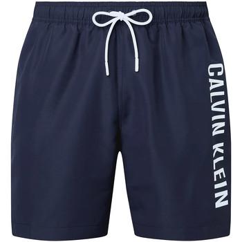 vaatteet Miehet Uima-asut / Uimashortsit Calvin Klein Jeans KM0KM00570 Sininen