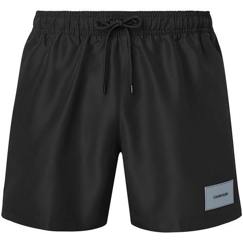 vaatteet Miehet Uima-asut / Uimashortsit Calvin Klein Jeans KM0KM00574 Musta