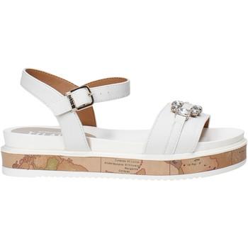 kengät Tytöt Sandaalit ja avokkaat Alviero Martini 0575 0326 Valkoinen