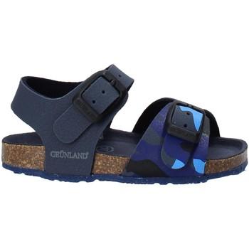 kengät Lapset Sandaalit ja avokkaat Grunland SB1646 Sininen