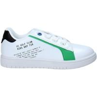 kengät Lapset Matalavartiset tennarit U.s. Golf S21-S00UK811 Valkoinen
