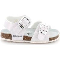 kengät Lapset Sandaalit ja avokkaat Grunland SB1258 Valkoinen