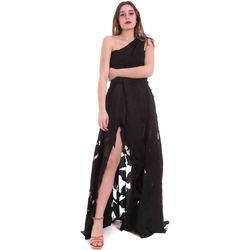 vaatteet Naiset Pitkä mekko Federica Tosi FTE20AB070.0CH0013 Musta