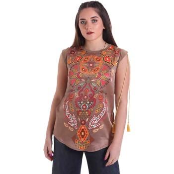 vaatteet Naiset Topit / Puserot Cristinaeffe 5660 Beige