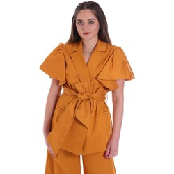 vaatteet Naiset Takit / Bleiserit Cristinaeffe 0308 2491 Keltainen