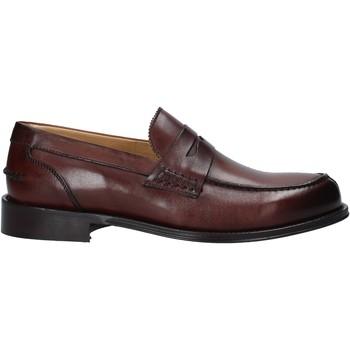 kengät Miehet Mokkasiinit Exton 102 Ruskea