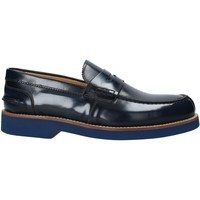 kengät Miehet Mokkasiinit Exton 2102 Sininen