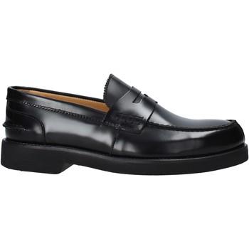 kengät Miehet Mokkasiinit Exton 2102 Musta