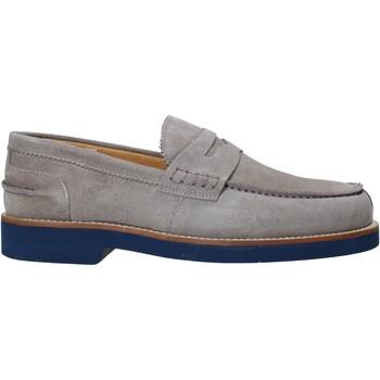 kengät Miehet Mokkasiinit Exton 2102 Harmaa