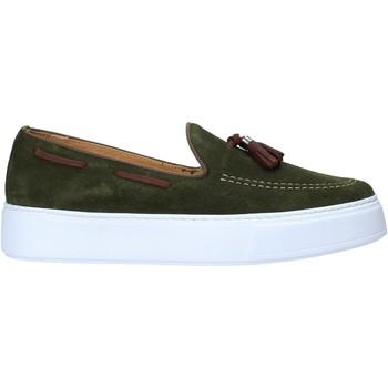 kengät Miehet Mokkasiinit Exton 511 Vihreä