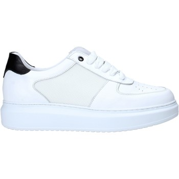 kengät Miehet Matalavartiset tennarit Exton 956 Valkoinen