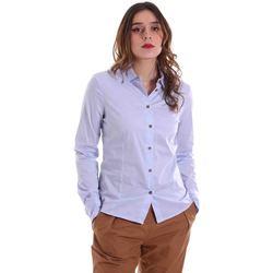 vaatteet Naiset Paitapusero / Kauluspaita Alessia Santi 011SD45049 Sininen