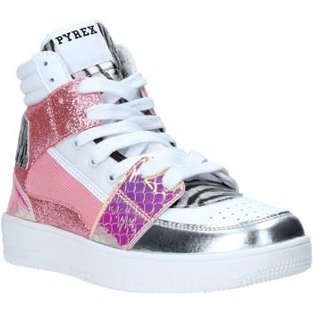 kengät Naiset Korkeavartiset tennarit Pyrex PY050111 Vaaleanpunainen