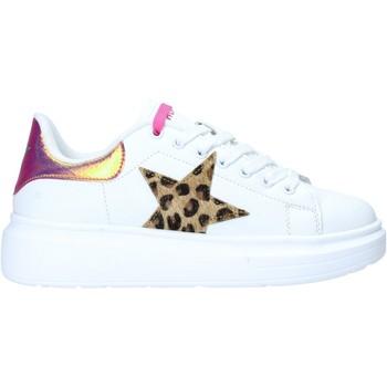 kengät Naiset Matalavartiset tennarit Shop Art SA050106 Valkoinen