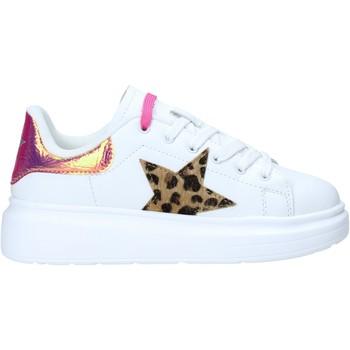 kengät Lapset Matalavartiset tennarit Shop Art SA050305 Valkoinen