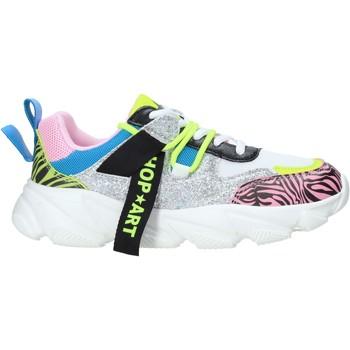 kengät Lapset Matalavartiset tennarit Shop Art SA050322 Vaaleanpunainen