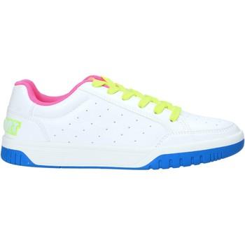 kengät Naiset Matalavartiset tennarit Shop Art SA050156 Valkoinen