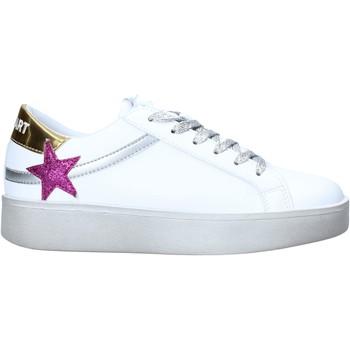 kengät Naiset Matalavartiset tennarit Shop Art SA050129 Valkoinen