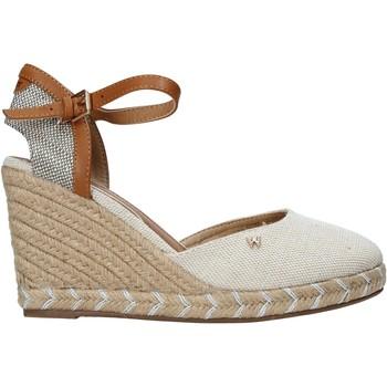 kengät Naiset Sandaalit ja avokkaat Wrangler WL11610A Beige