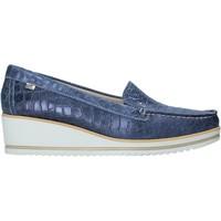 kengät Naiset Mokkasiinit Valleverde 11451 Sininen
