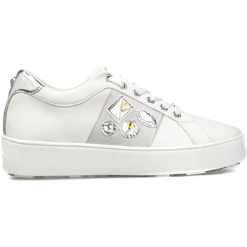 kengät Naiset Matalavartiset tennarit Apepazza S1SLY11/DIA Valkoinen