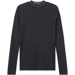 vaatteet Naiset T-paidat pitkillä hihoilla Calvin Klein Jeans J20J215228 Musta