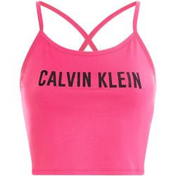 vaatteet Naiset Urheiluliivit Calvin Klein Jeans 00GWS1K163 Vaaleanpunainen