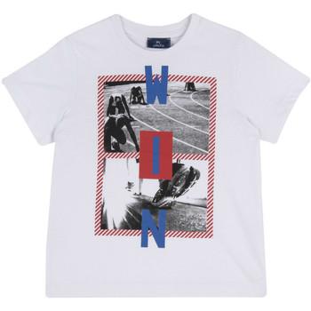 vaatteet Lapset Lyhythihainen t-paita Chicco 09067134000000 Valkoinen