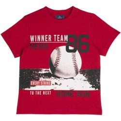 vaatteet Lapset Lyhythihainen t-paita Chicco 09067134000000 Punainen