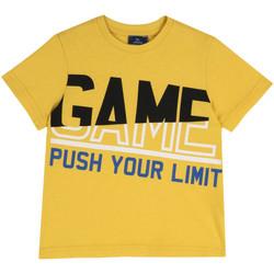vaatteet Lapset Lyhythihainen t-paita Chicco 09067134000000 Keltainen