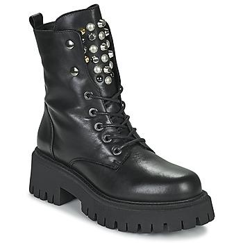 kengät Naiset Bootsit Sweet Lemon DONATE Musta