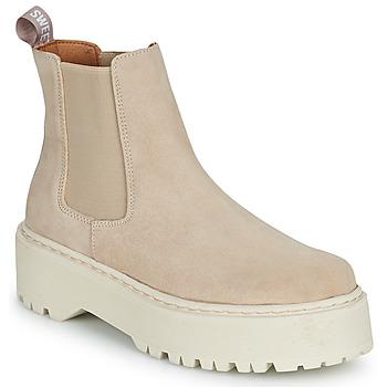 kengät Naiset Bootsit Sweet Lemon NYMA Beige