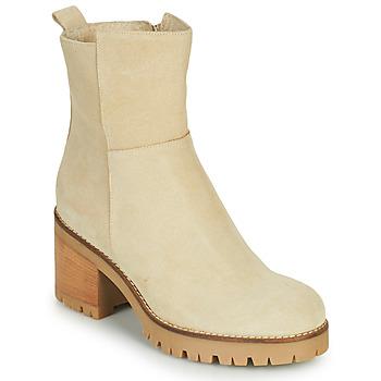 kengät Naiset Bootsit Sweet Lemon PIABLO Beige