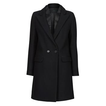 vaatteet Naiset Paksu takki Ikks BETA Musta