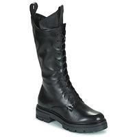kengät Naiset Saappaat Mjus BEATRIX HIGH Musta