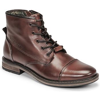 kengät Miehet Bootsit Bugatti MARCELLO I Ruskea
